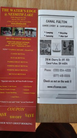Canal Fulton, OH: Brochures