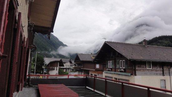 Innertkirchen, Szwajcaria: Widok z pokoju