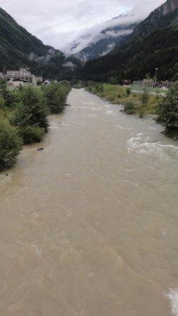 Innertkirchen, Szwajcaria: Rzeka Aare