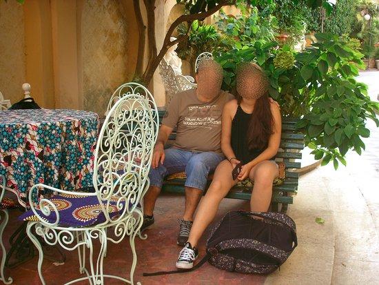 Hotel Emona Aquaeductus: Espaços contíguos ao hotel - jardim