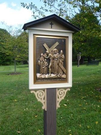 Ellicott City, MD: Outdoor Station of the Cross
