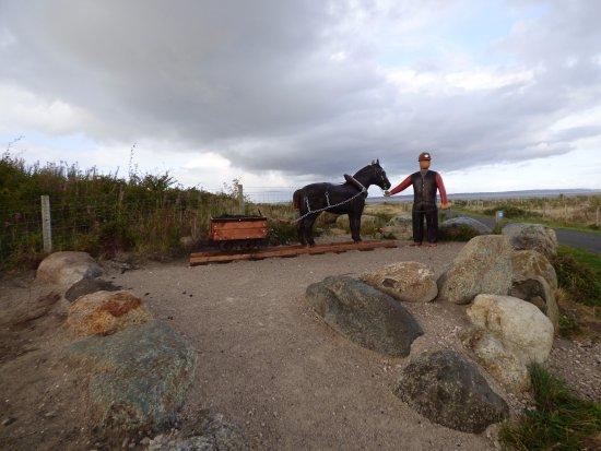 Point of Ayr Colliery Headgear Monument