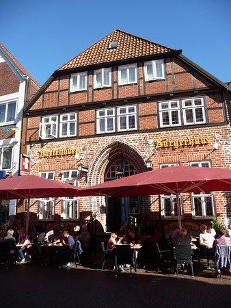 Buxtehude, Germania: Blick auf das Amadeus im Sommer 2017