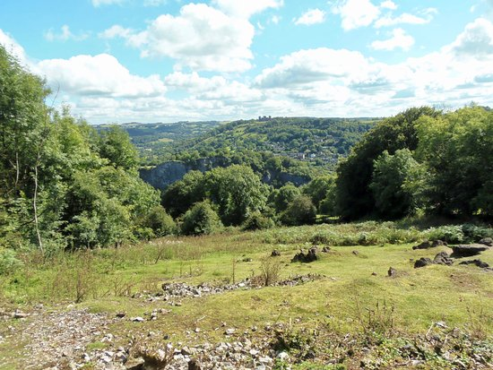 Matlock Bath, UK: View from the top