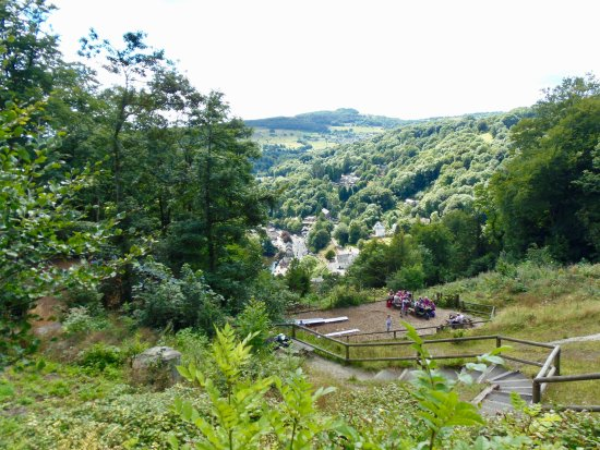 View from the top towards Matlock Bath