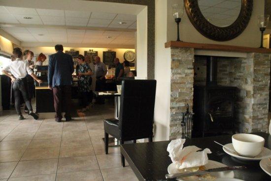 Cloughmills, UK: Dining area.