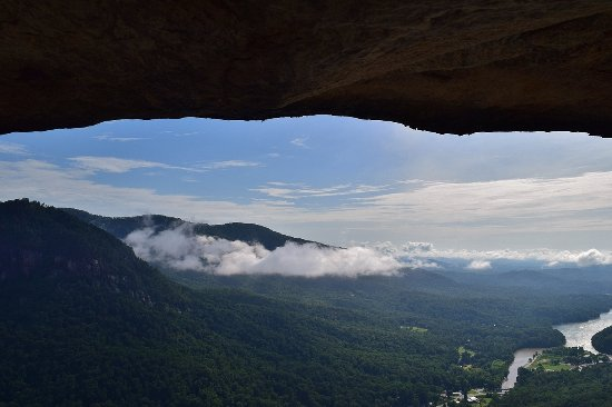 Chimney Rock, NC: View from Opera Box