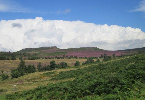 Peak District National Park, UK: Higger Tor & Carl Wark from Longshaw