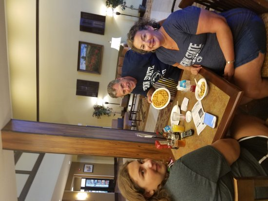 State College, PA: Breakfast before the big move-in day at Penn State!