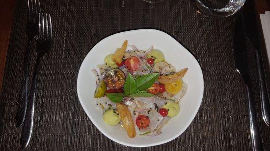 Thuir, França: Excellent restaurant. Régal des yeux et des papilles. Le chef utilise des produits frais et légu