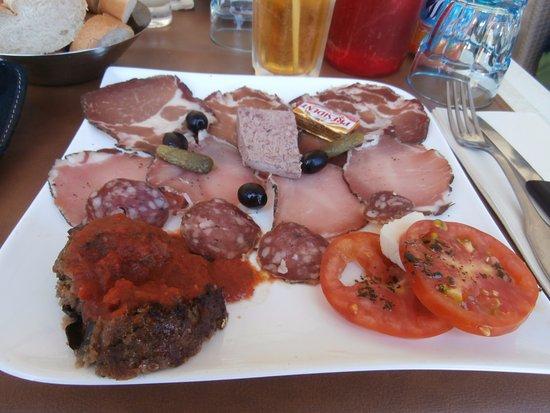 Pizzeria Grill des Amis: L'assiette de dégustation
