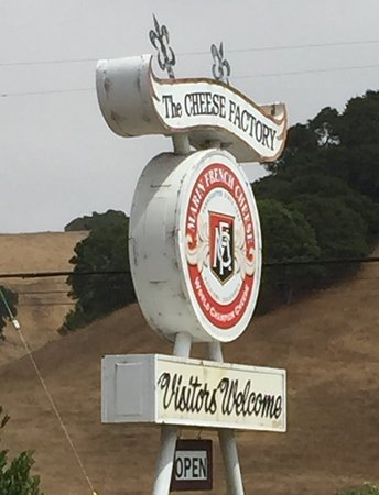 Petaluma, Kaliforniya: Road side sign