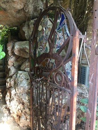 Rosh Pina, Israel: שער הכניסה למתחם