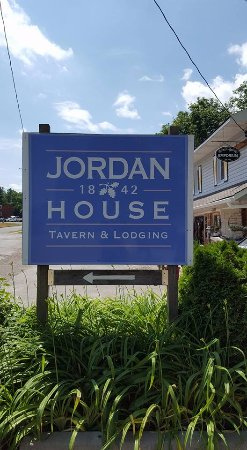 Jordan, Canada: You can't miss the sign