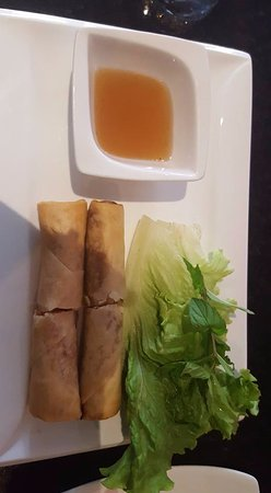 Tamarine by Quynh Nhi: Delicious Veggie Spring Rolls