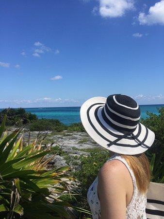 Quintana Roo, México: Recomendamos uso de chapéu no local. Muito quente.