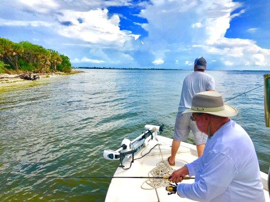 Boca Grande, FL: Grandfather/Grandson double hook up