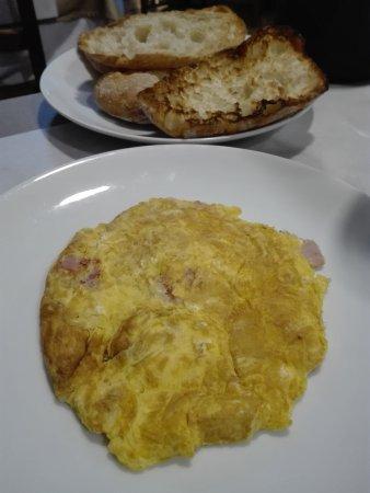 Desayuno excelente