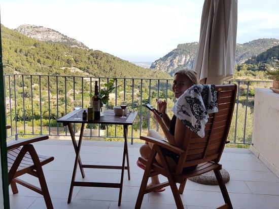 Es Petit Hotel de Valldemossa: Room 2 terrace