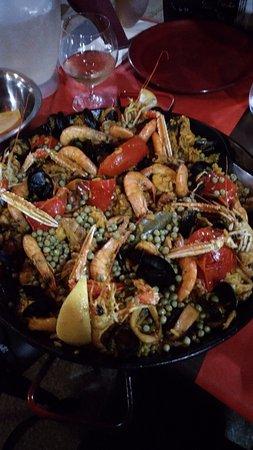 Chez Paco : Paella Mista per tre persone