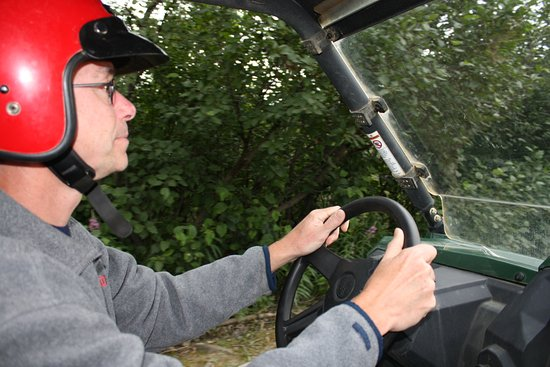 Denali ATV Adventures : Driving the side by side ATV