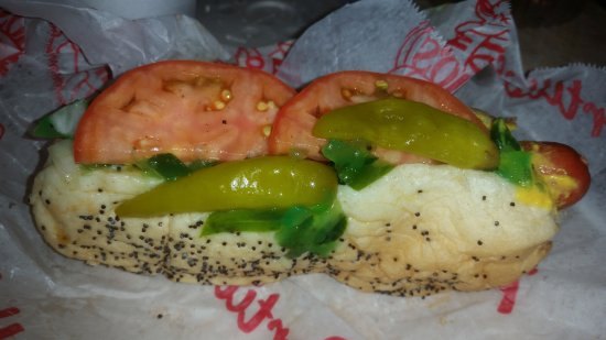 Normal, IL: Chicago dog