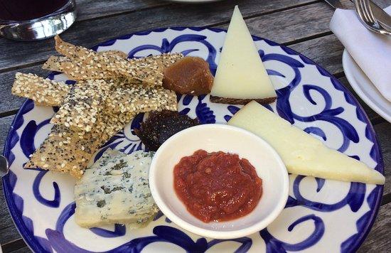 Segovia Tapas Bar and Restaurant Spanish Cheese Plate for $18. Yes this puny & Spanish Cheese Plate for $18. Yes this puny little plate was $18 ...