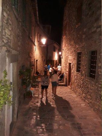 Montefioralle, อิตาลี: Restaurant Teverna Del Guerrino