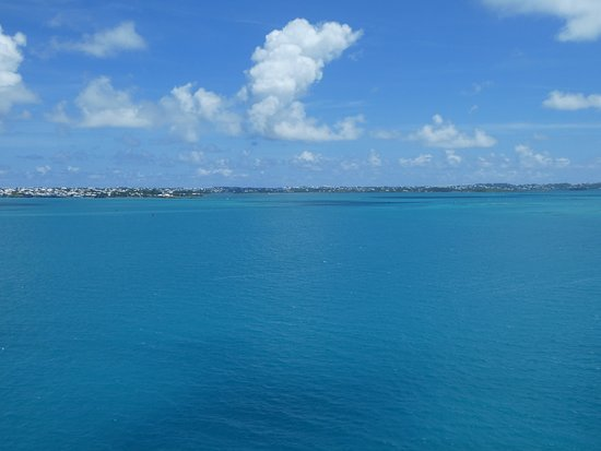 Sandys Parish, Bermuda: View Of Sea Looking Away From The Wharf