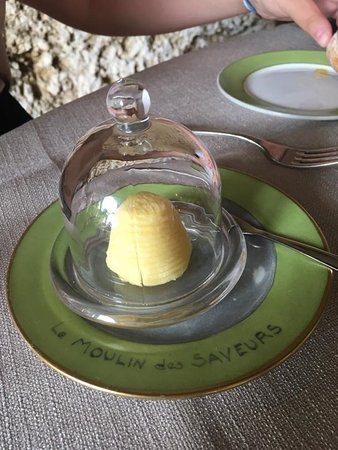 Barbaste, France : Butter with a hint of lemon.