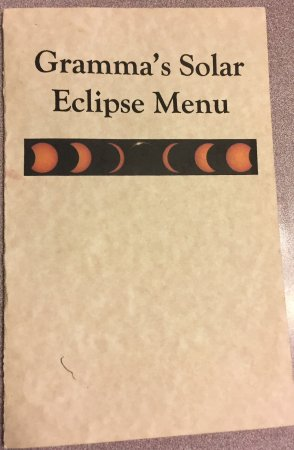 Cascade, ID : Eclipse menu (special for the event)