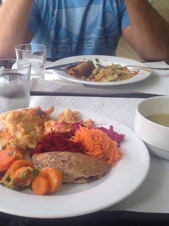 Restaurante Salsa Verde: Bufete livre