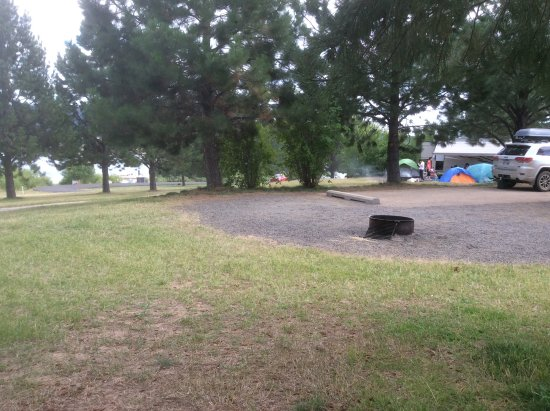 Cascade, ID : Campsites at Sugarloaf are not too close together