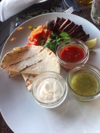 Greenough, MT: Fajitas done right!