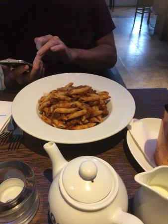 Kilmarnock, UK: Spaghetti bolognese