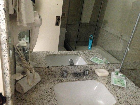 Bristol Merit Hotel: banheiro