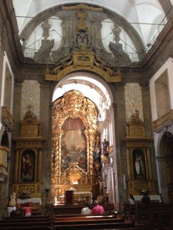 1b2f08afb482 Igreja Paroquial de San Nicolau: Igreja de São Nicolau situada no centro  histórico da cidade .