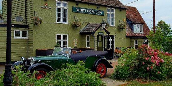 Barton, UK: The White Horse