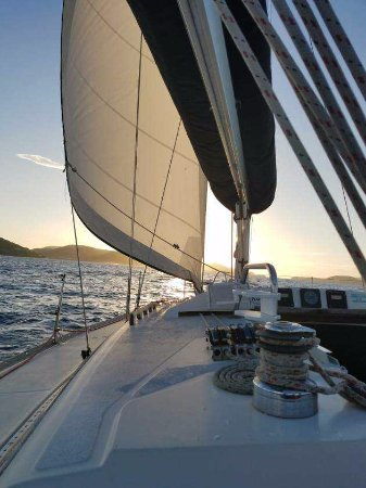 Red Hook, St. Thomas: one more amazing day sail charter ends..