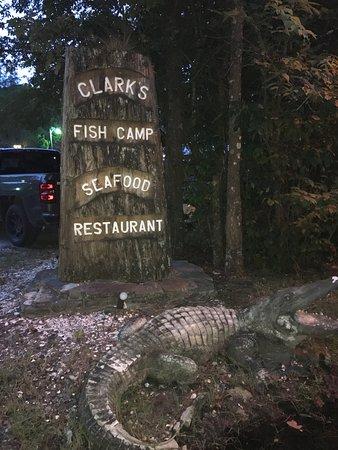 Clark 39 s fish camp jacksonville menu prices for Fish camp menu