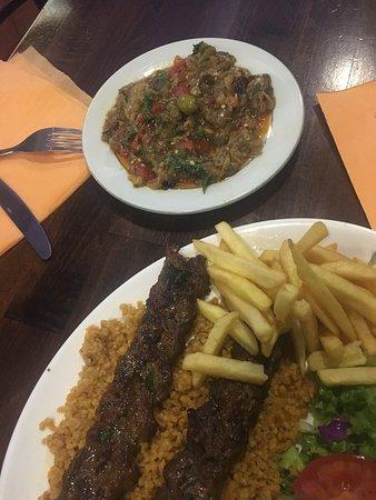 Excellent Turkish food