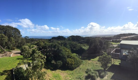 Cape Schanck, Australia: Looking out towards Bass Straight with Port Phillip on the right in the distance