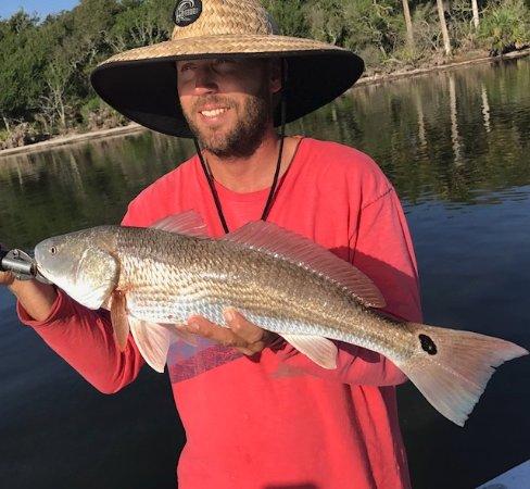 Edgewater, FL: Redfish