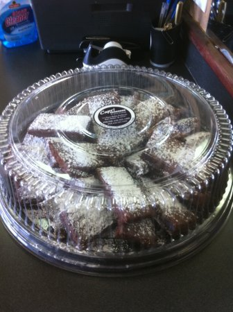 Burr Ridge, IL: Brownie catering tray