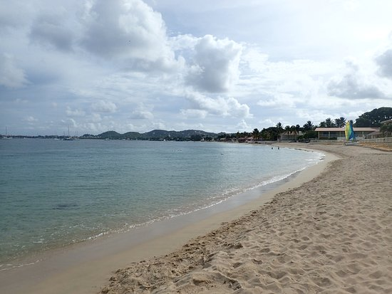 Reduit Beach At Rodney Bay St Lucia