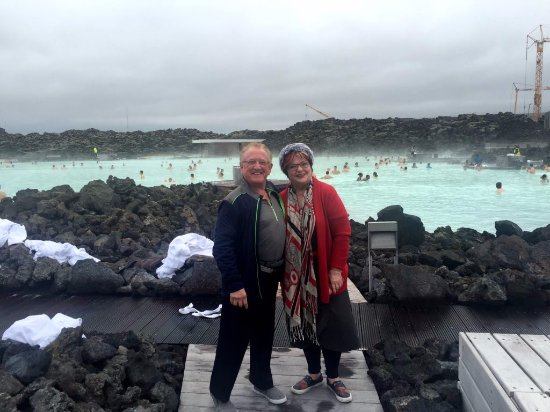 Grindavik, أيسلندا: A before picture with clothes of Sparky & Jean Ann.