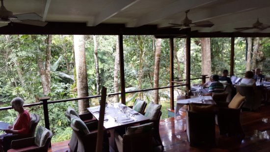 Mossman, Australia: Outlook from dining area