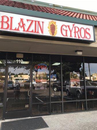 Blazin Gyros