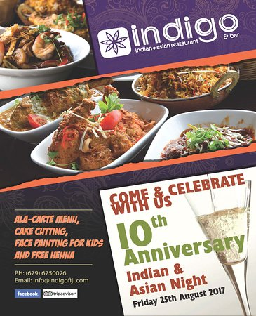 Indigo Indian Asian Restaurant Fiji
