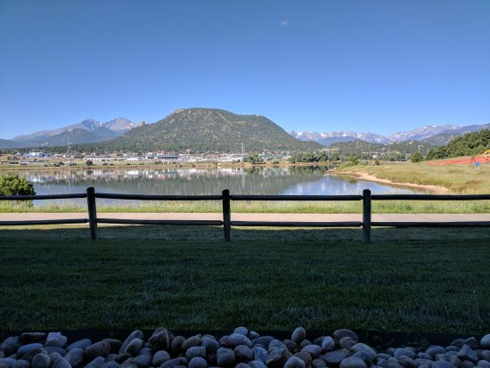 The Estes Park Resort: The view from our room!